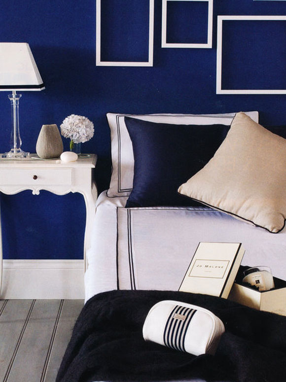 Bright wall color inspiration