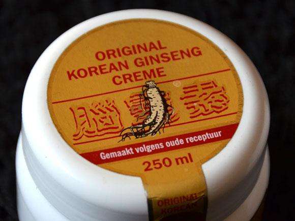 Original Korean Ginseng Cream