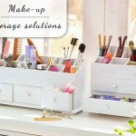Make up storage solutions