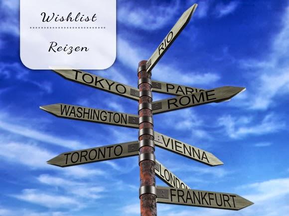 Wishlist: reizen