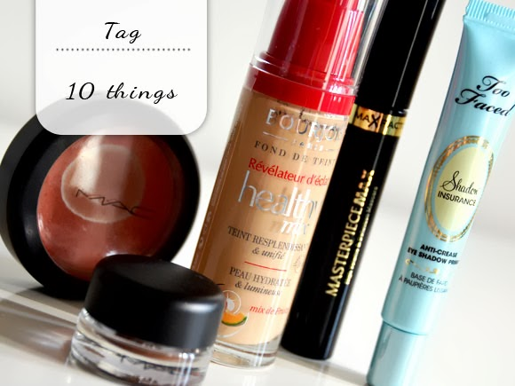 10 things I would repurchase tag