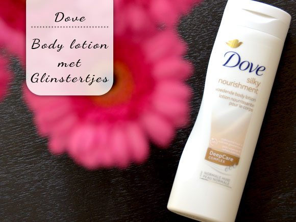 Dove Silky Nourishment met glinstertjes