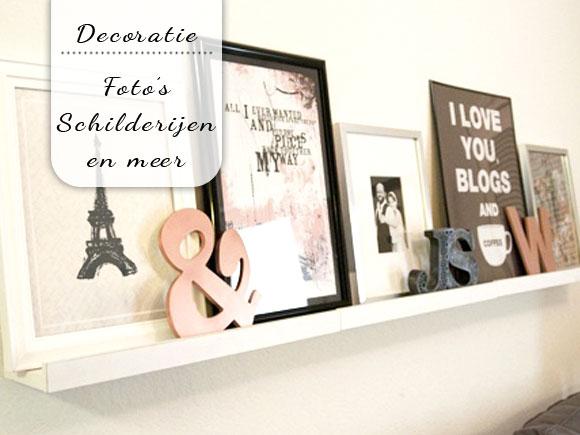 Muur Plank Voor Schilderijen.Decoreren Met Foto S Schilderijen En Meer My Simply Special