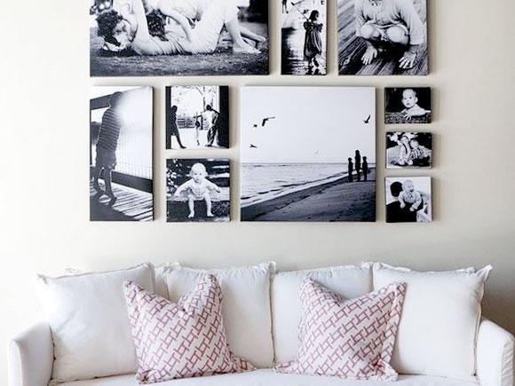 Decoreren met foto's, schilderijen en meer