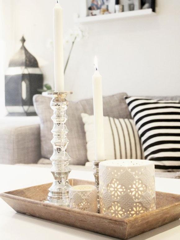 Decoreren met dienbladen my simply special - Hoe je een scheiding in een ruimte te maken ...