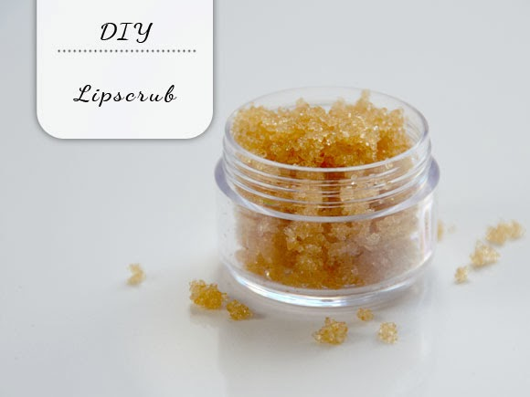 Easy DIY lipscrub
