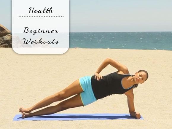 Drie workouts voor beginners