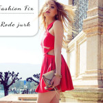 Fashion Fix: rode zomerjurk