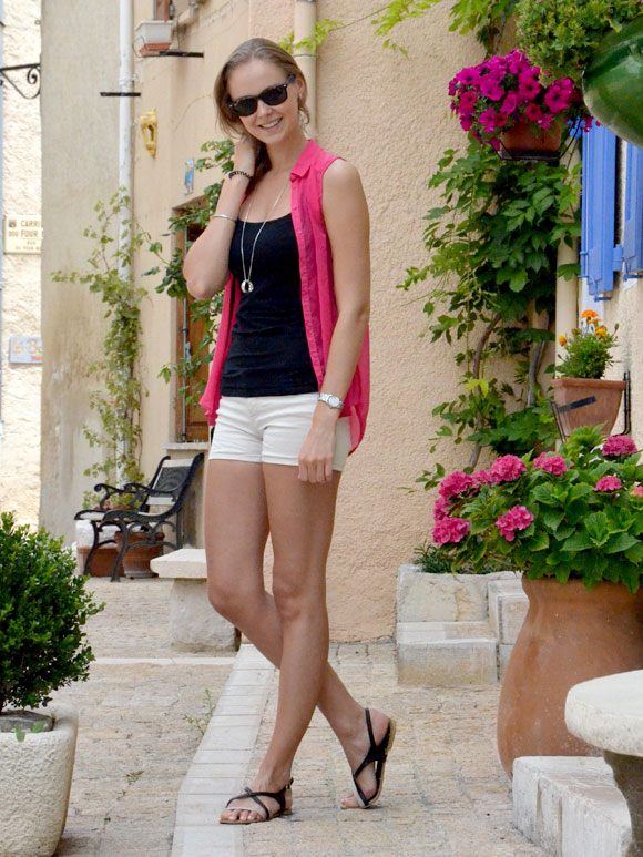 Outfit: pretty pink
