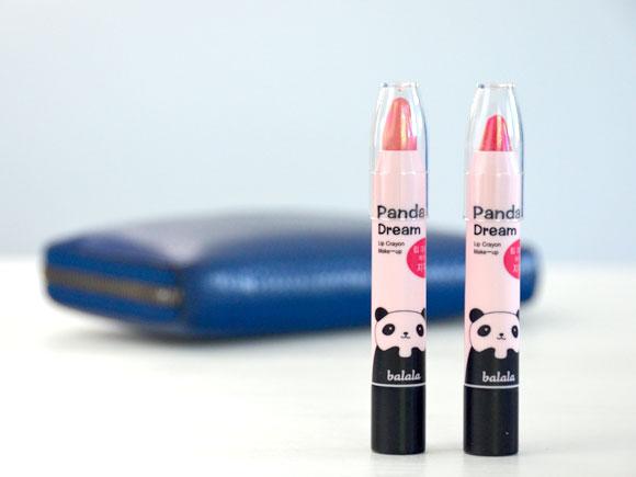 Panda's Dream Lip Crayons
