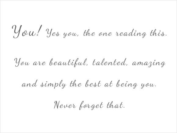 Een mooie quote!