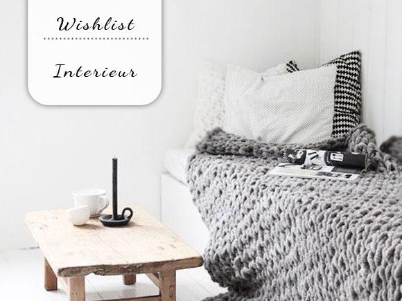 Wishlist: interieur