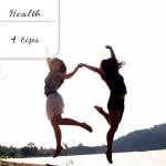 4 tips voor een gezonder leven