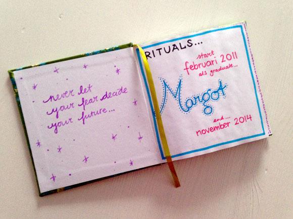 Dagboek: Dag Rituals!