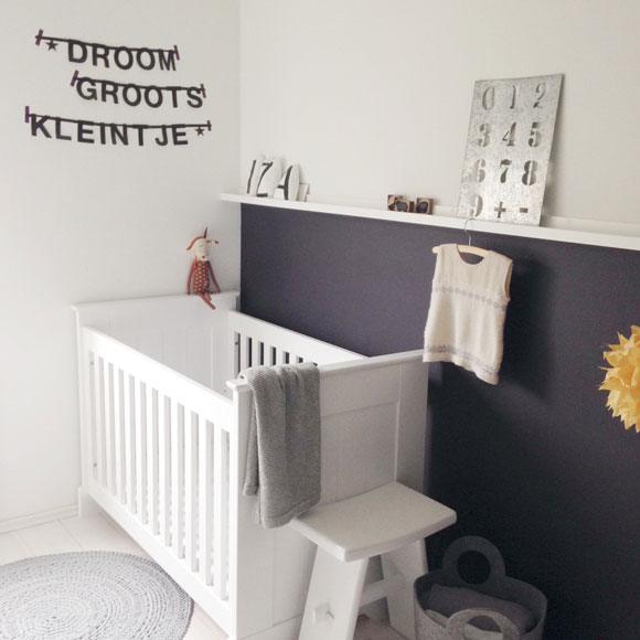 Babykamer stylen, tien leuke ideeën