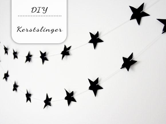 DIY: kerstslinger van vilt