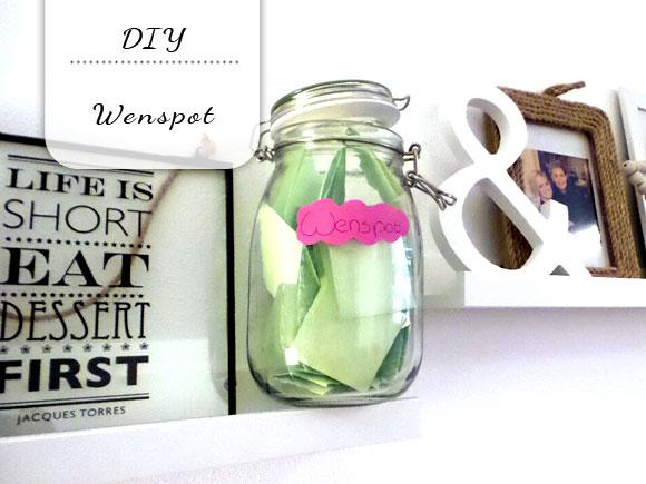 DIY wenspot