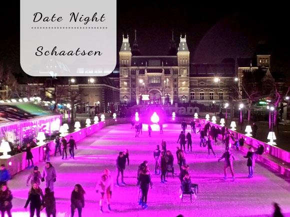 Date Night: Schaatsen op museumplein