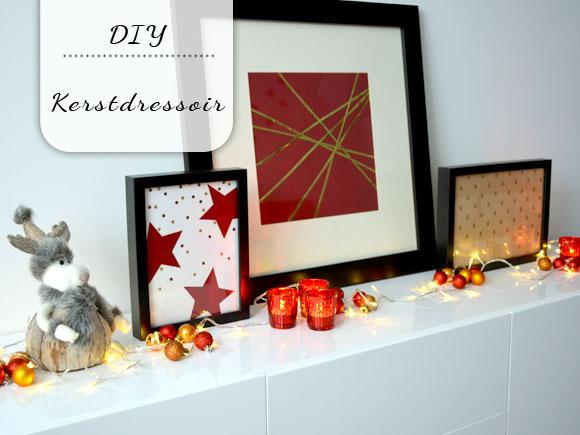 Dressoir Decoratie Ideeen : Video: ideeën voor een kerstdressoir my simply special