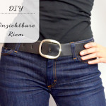 DIY: Onzichtbare riem