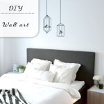 DIY: washi wall art