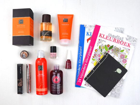 Winactie: verwenpakket met o.a. Rituals, The Body Shop & Flormar