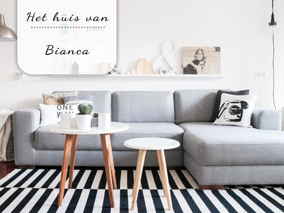 Binnenkijken bij Bianca