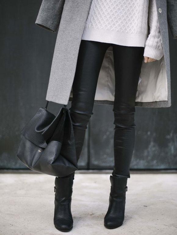 Fashion Fix: Leren broek