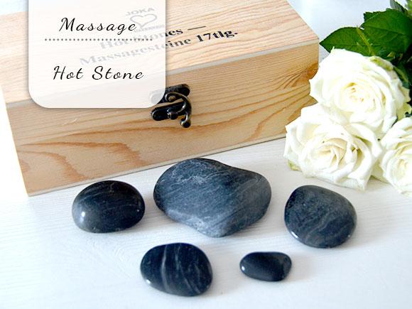 Mijn eerste Hot Stone massage
