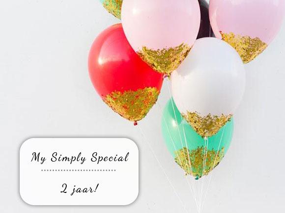 My Simply Special bestaat 2 jaar!