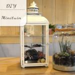DIY: Minituintjes voor in huis