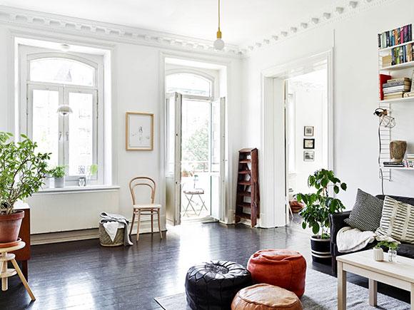 Houten Vloer Zwart Schilderen: Witte keuken lichte vloer consenza for ...