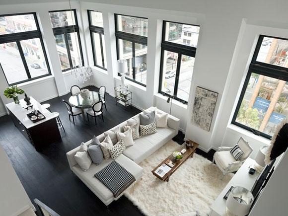 Vloeren: wit vs. zwart