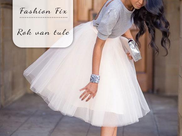 Fashion Fix: Rok van tule
