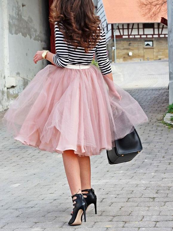 Fashion fix rok van tule my simply special - Hoe een lange gang te plannen ...