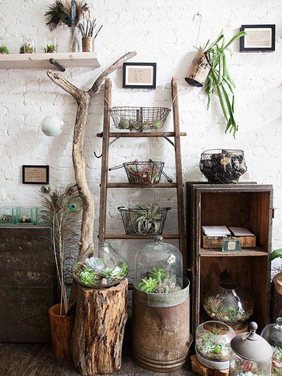 Ladders in huis my simply special - Groen huis model ...