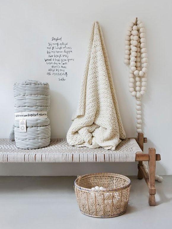 Creatief met een houten woonketting