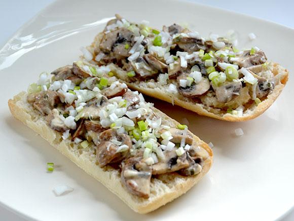 Broodje champignons