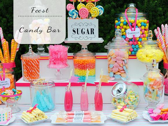 Maak je eigen candy bar