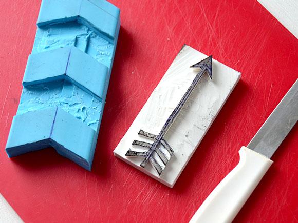 DIY: Kussen stempelen