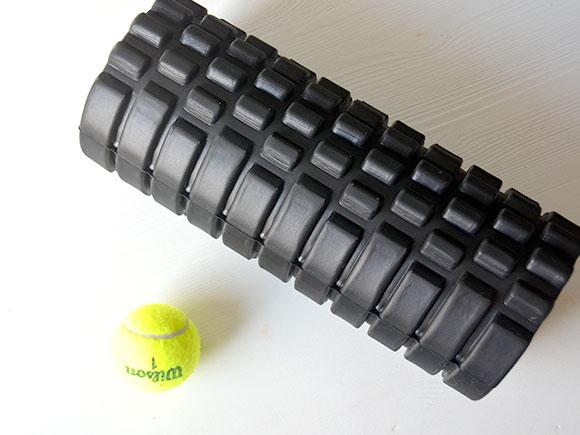 Masseer jezelf met een foam roller