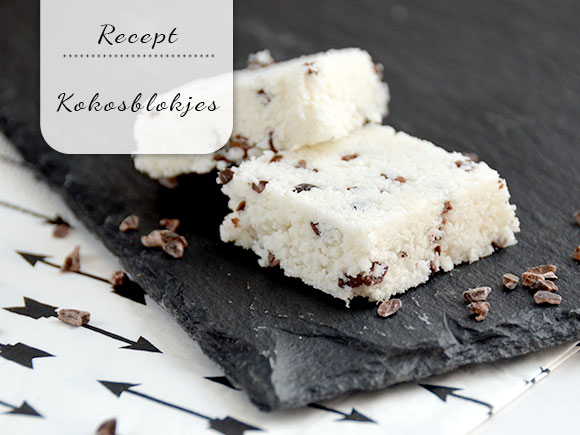 Gezonde kokosblokjes