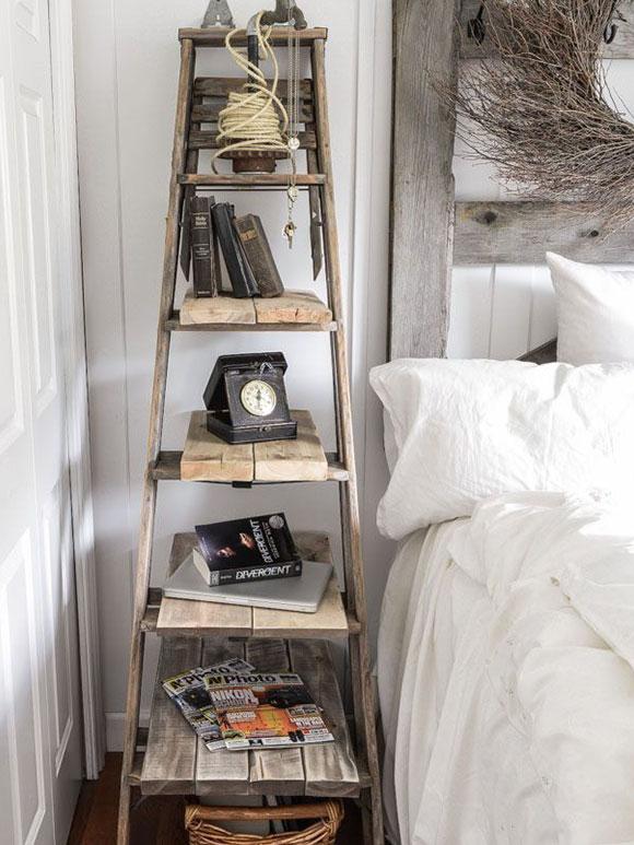 Gooi je vintage ladder niet weg! - My Simply Special