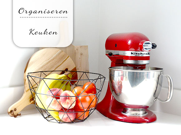 Keukenkast En Organiseren : Organiseer je keuken my simply special