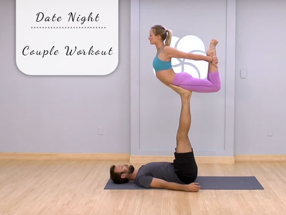 Date night: Couple workout
