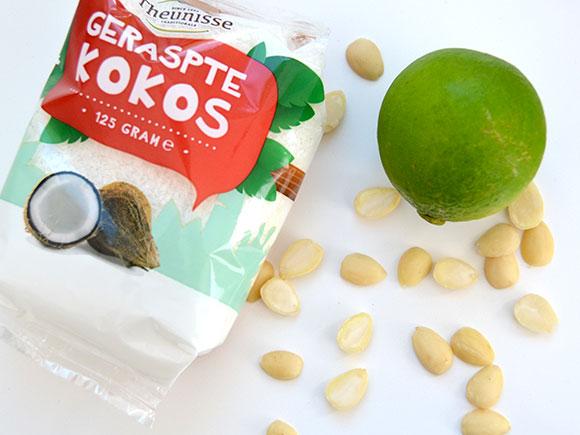 Kokos-limoenbolletjes