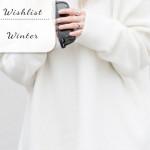 Op mijn wishlist: Winterkleding