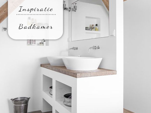 Badkamer inspiratie - My Simply Special