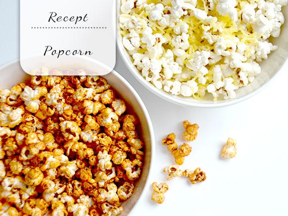 Variëren met popcorn