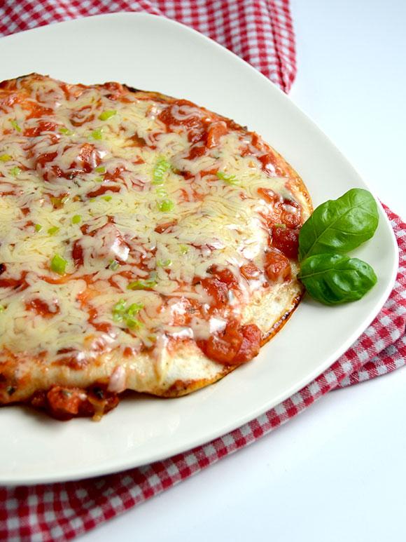 Wraps met tomaat en chorizo